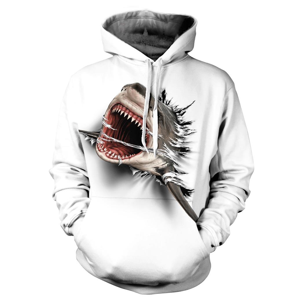 Shark Attack White-wyp - Tulzo