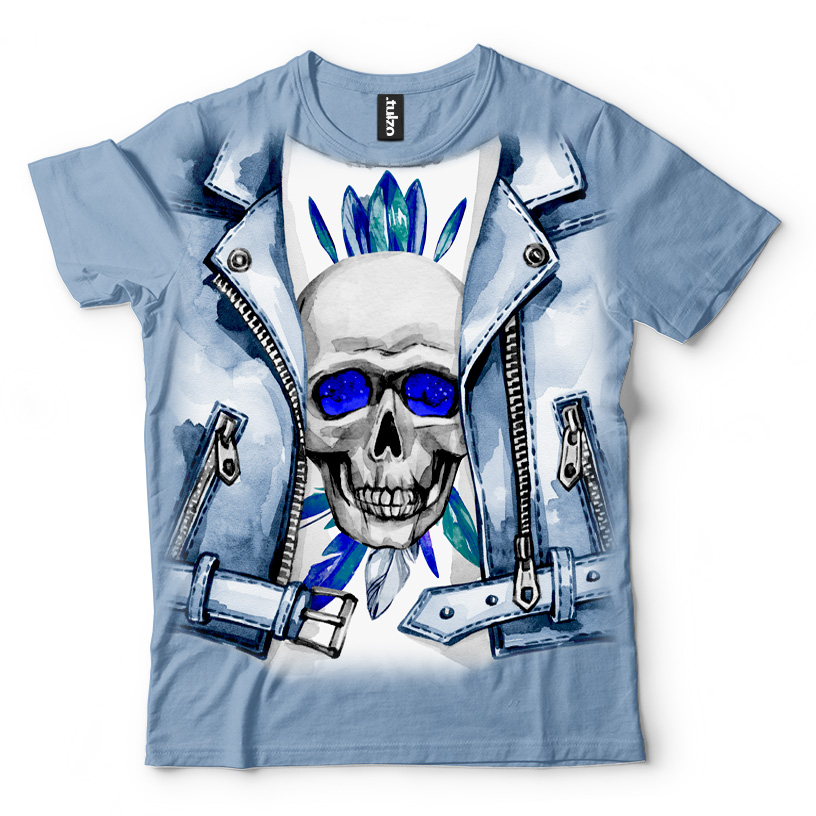 Blue Jacket Skull - Tulzo