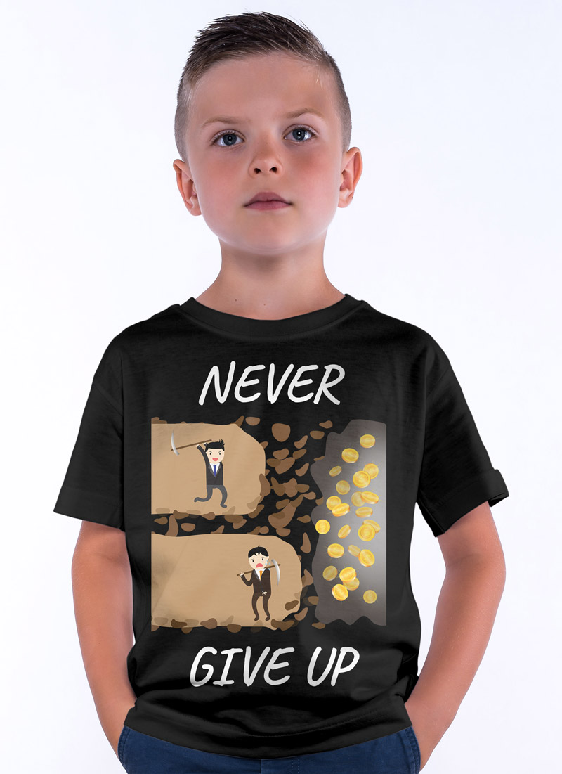 Never Give Up - Tulzo
