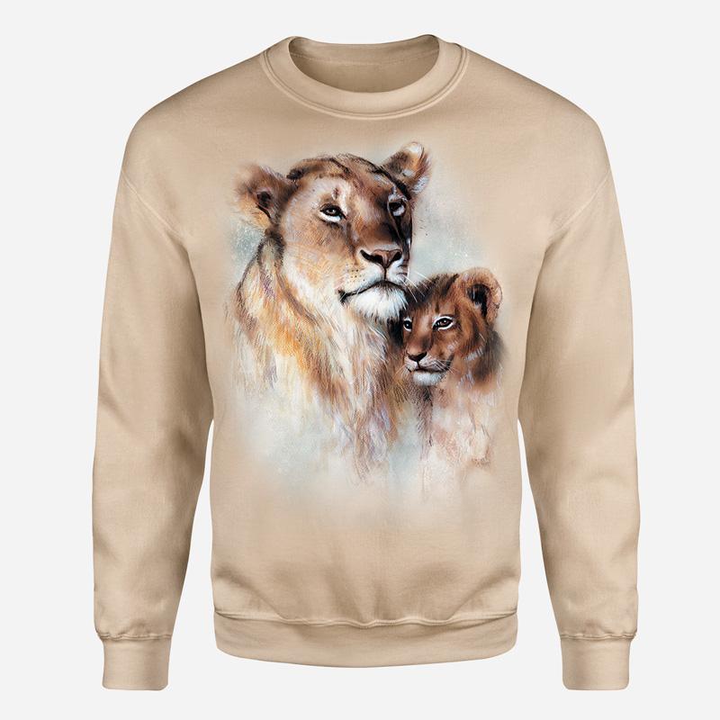 Lwica z lwiątkiem-wyp - Tulzo