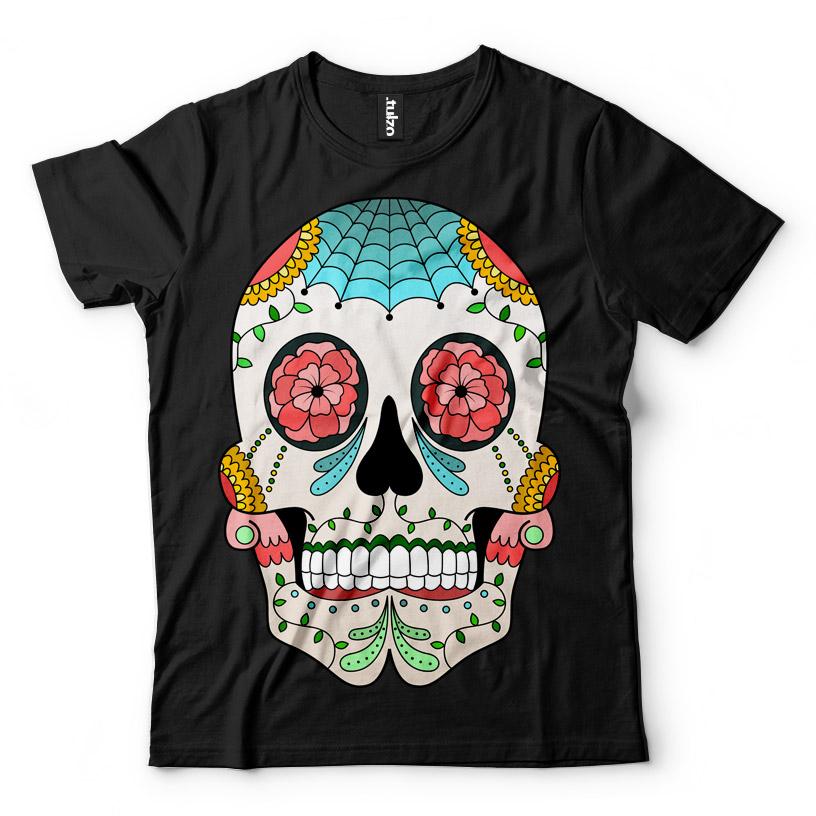Paint Sugar Skull 1 - Tulzo