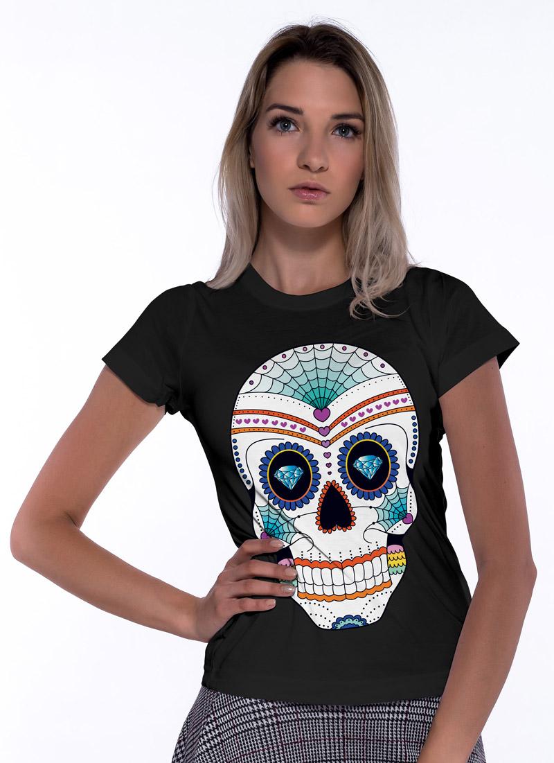 Paint Sugar Skull 3 - Tulzo