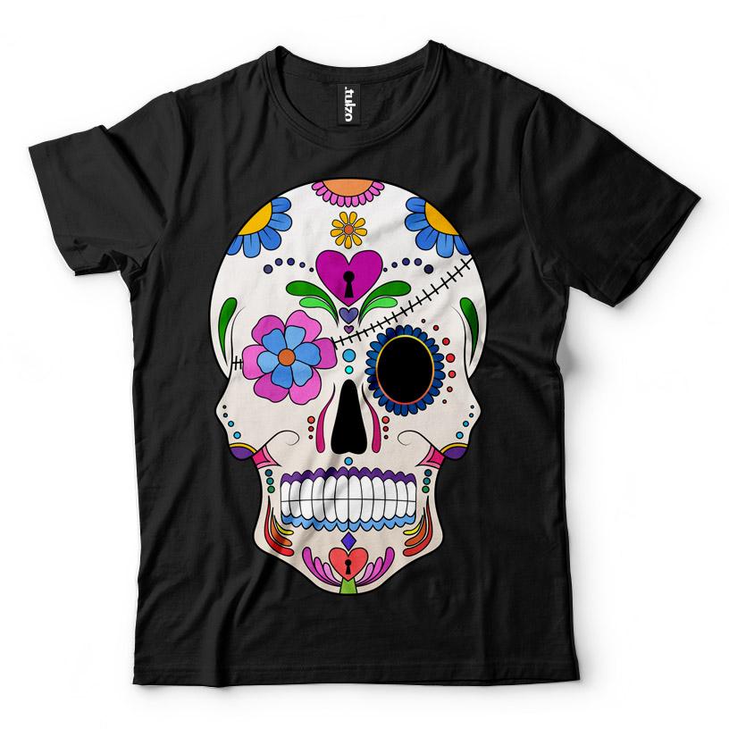 Paint Sugar Skull 5 - Tulzo
