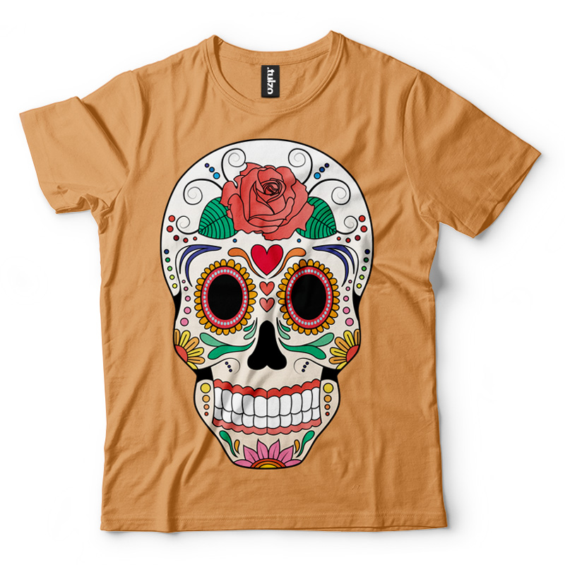 Paint Sugar Skull 6 - Tulzo