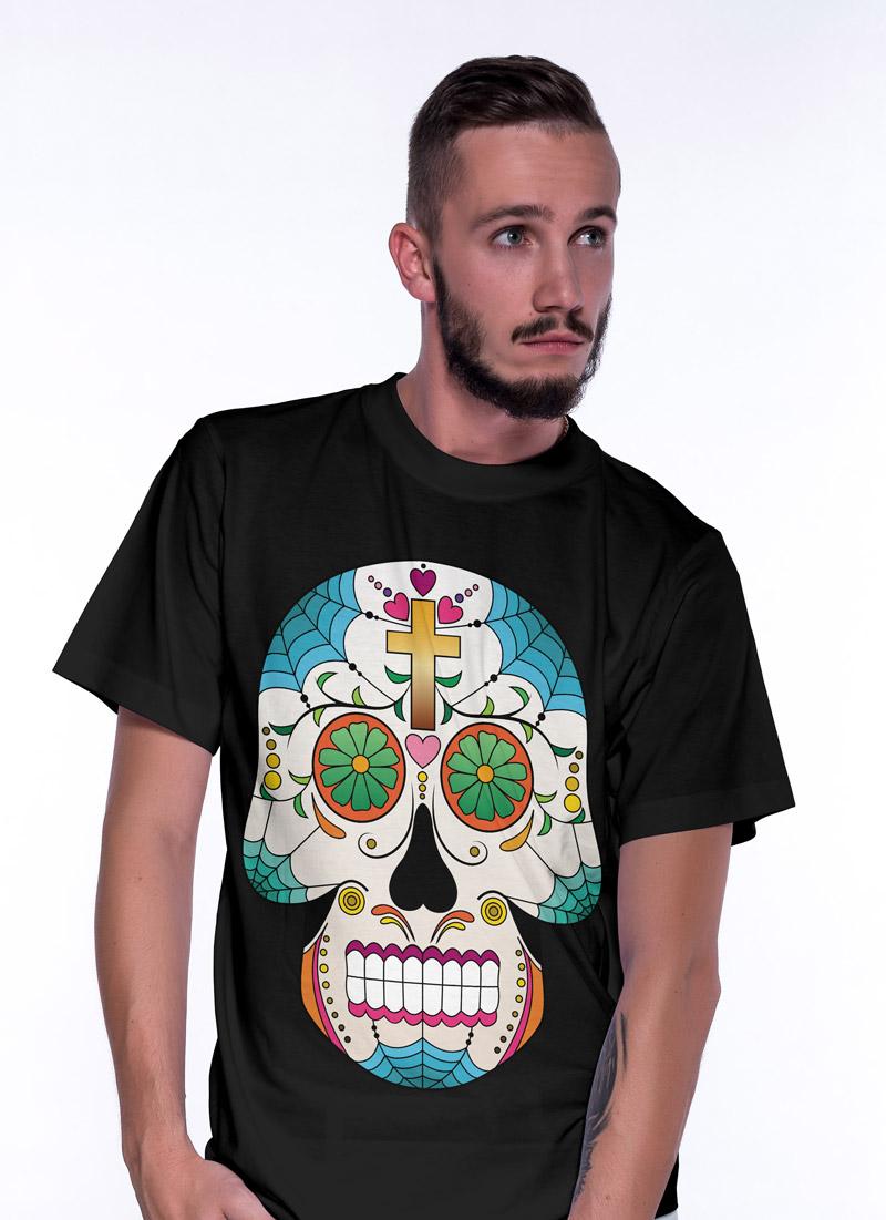 Paint Sugar Skull 7 - Tulzo
