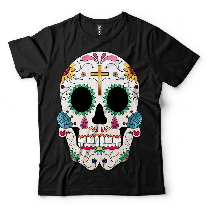 Paint Sugar Skull 8 - Tulzo