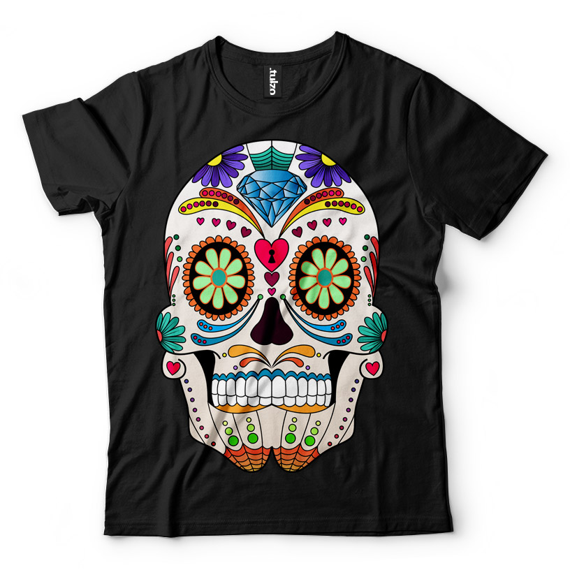 Paint Sugar Skull 9 - Tulzo