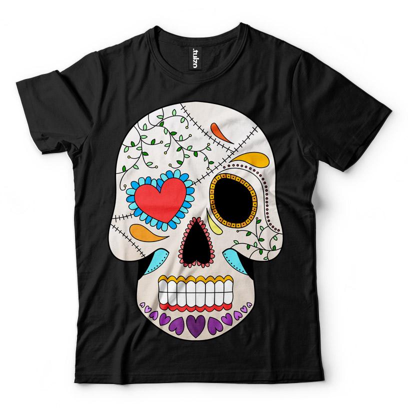 Paint Sugar Skull 10 - Tulzo