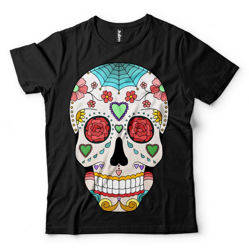 Paint Sugar Skull 11 - Tulzo