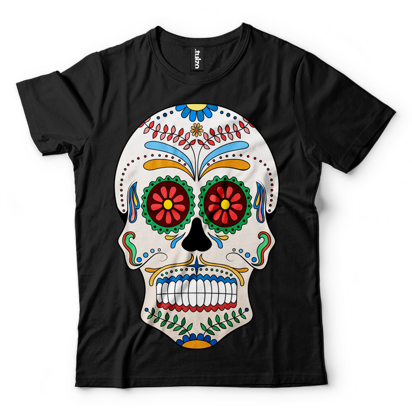 Paint Sugar Skull 12 - Tulzo