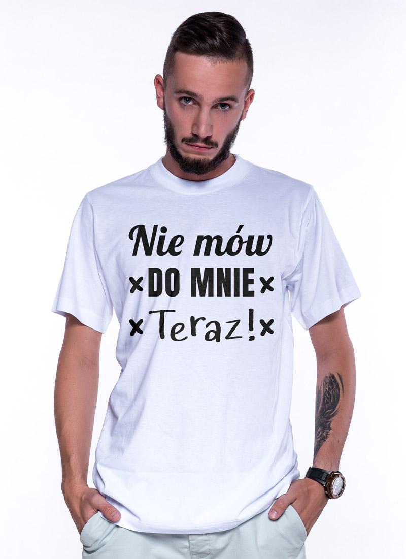 Nie mów do mnie teraz! (white) - Tulzo