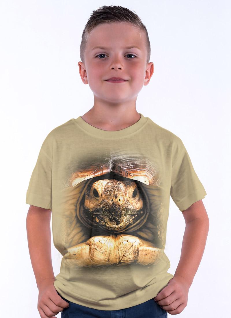 092cfb61b Koszulka z Żółwiem, Koszulki ze zwierzętami 3D - Tulzo