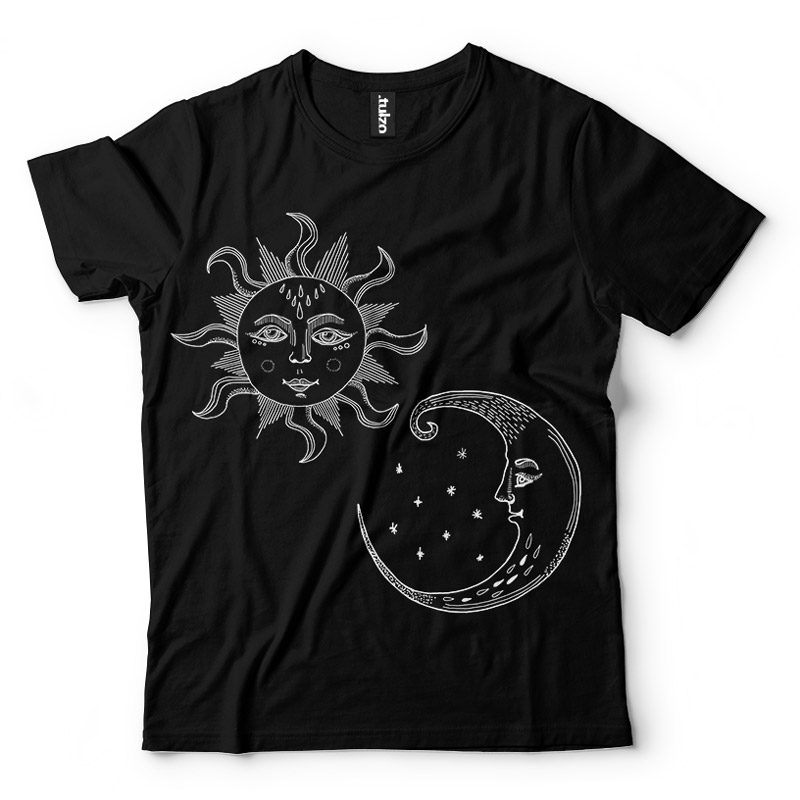 Słońce i księżyc Boho - Tulzo
