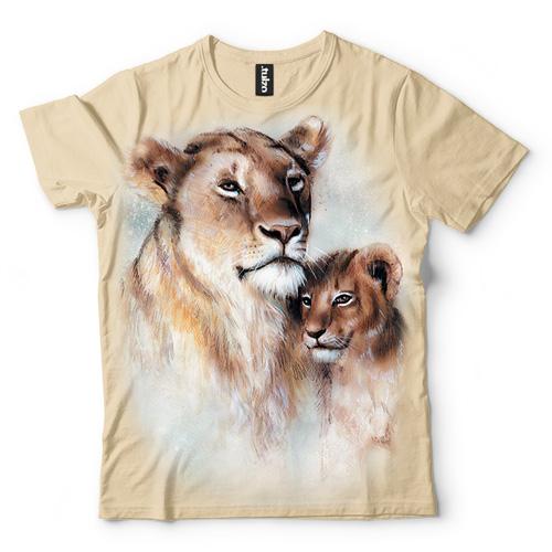 Lwica z lwiątkiem - Tulzo