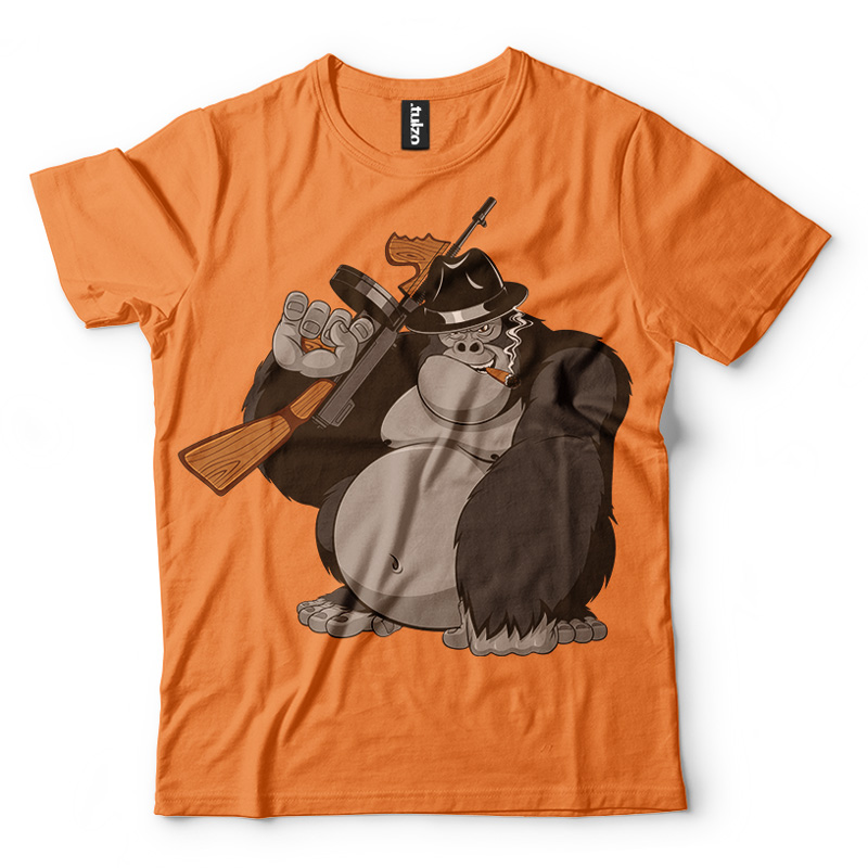Goryl z bronią-wyp - Tulzo