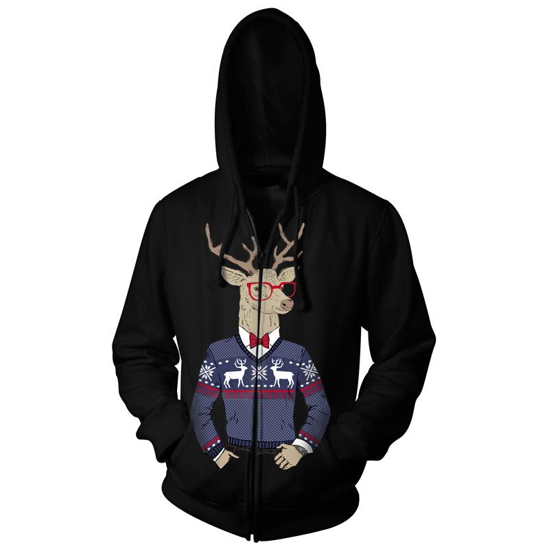 Jeleń w zimowym sweterku - Tulzo