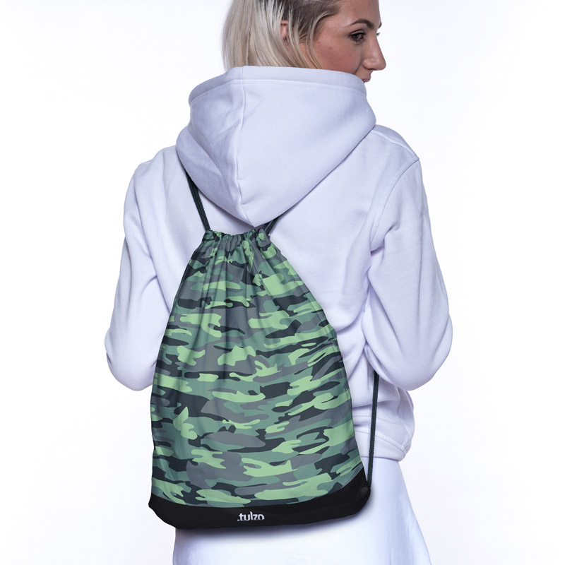 Plecak (worek) Ciemno Zielone Moro-wyp - Tulzo