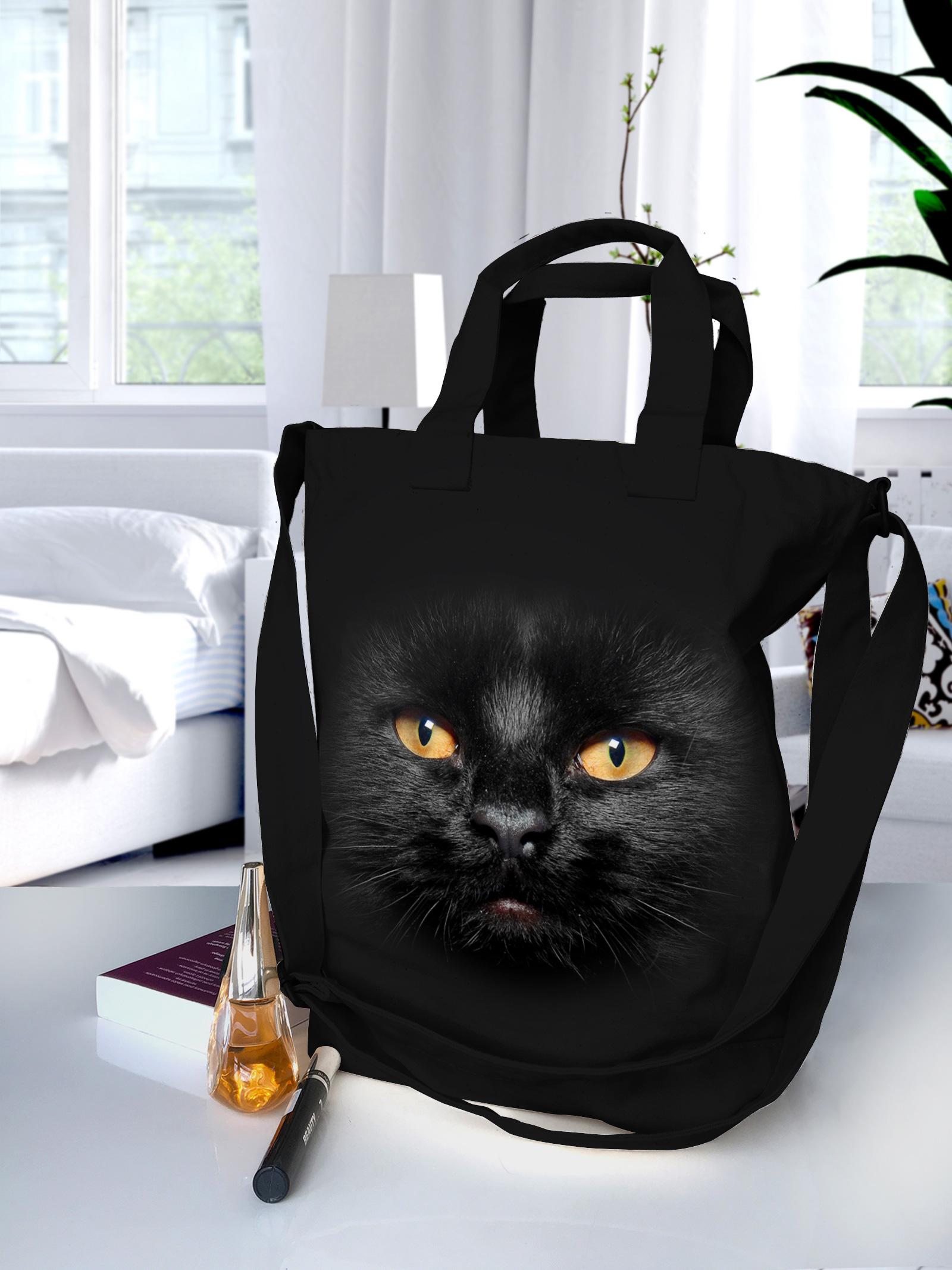 Torba Czarny Kot - Tulzo
