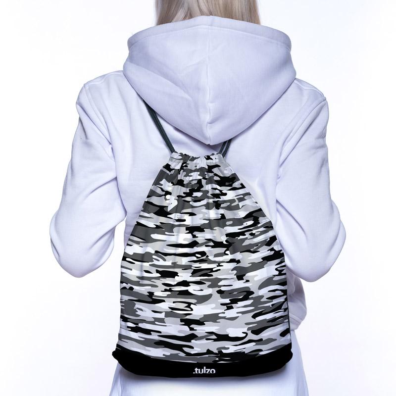 Plecak (worek) Czarno Białe Moro - Tulzo