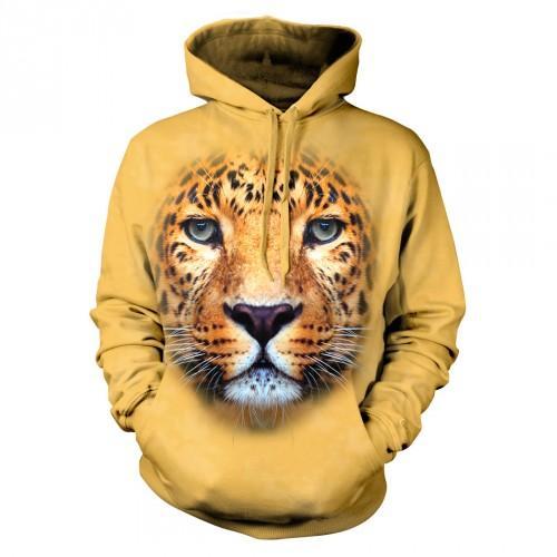 Bluza z Lampartem | Lampart | Bluzy ze zwierzętami 3D | Tulzo - Tulzo