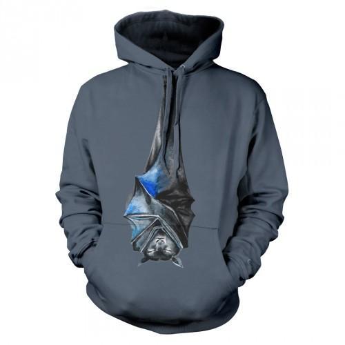Bluza z Nietoperzem malowany | Bluza | Bluzy | Bluzy 3D | Bluza 3D - Tulzo