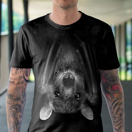 Koszulka Basic z Nietoperzem - Tulzo