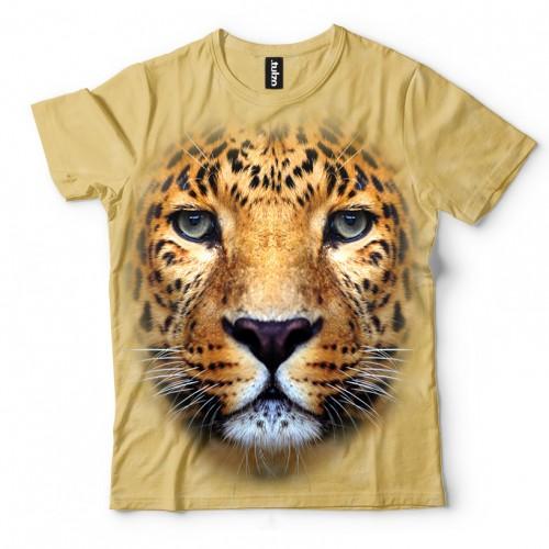 Koszulka z Lampartem | Koszulki 3d | Koszulka 3d | t-shirt 3d | t-shirts 3d - Tulzo
