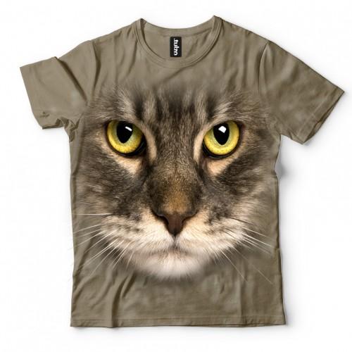 Koszulka z Kotem Romanem | Koszulki 3d | Koszulka 3d | t-shirt 3d | t-shirts 3d - Tulzo