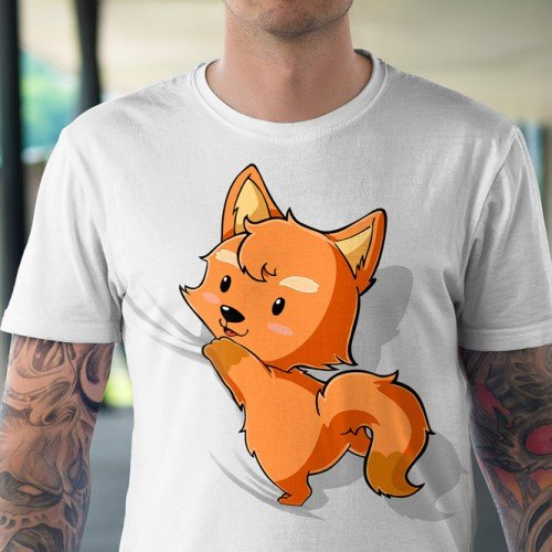 Koszulka z rudym liskiem - Tulzo