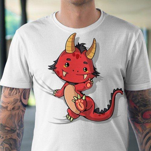 Koszulka z Wesołym smokiem - Tulzo