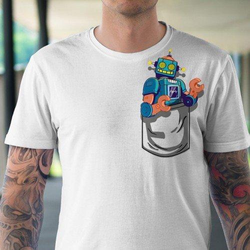 Koszulka z Robotem - Tulzo