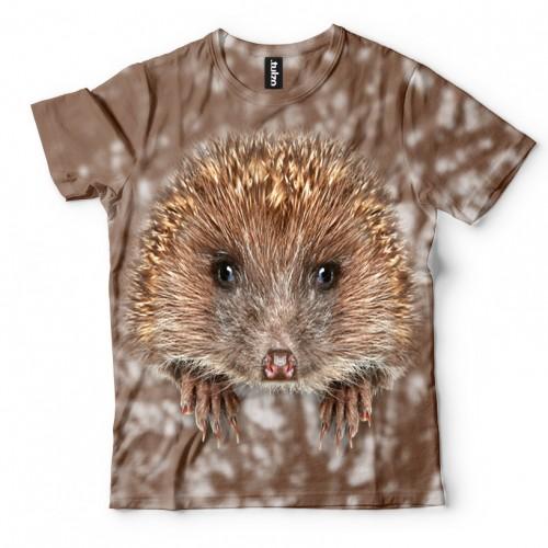 Koszulka z Jeżykiem | Jeż | Jeżyk | Koszulki 3d | Koszulka 3d | t-shirt 3d | t-shirts 3d - Tulzo