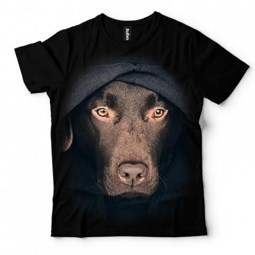 Koszulka z Labradorem z Kapturem - Tulzo