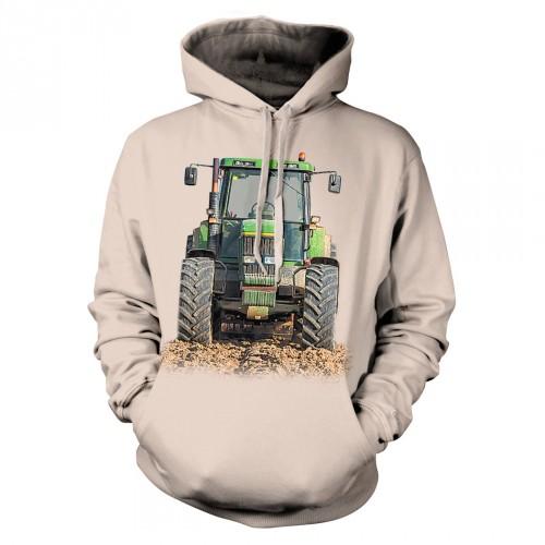 Bluza Traktor - Koszulki i bluzy 3D, T-shirty, tshirty, koszulki 3D z nadrukiem, koszulki damskie, koszulki męskie, koszulka, koszulki - Tulzo