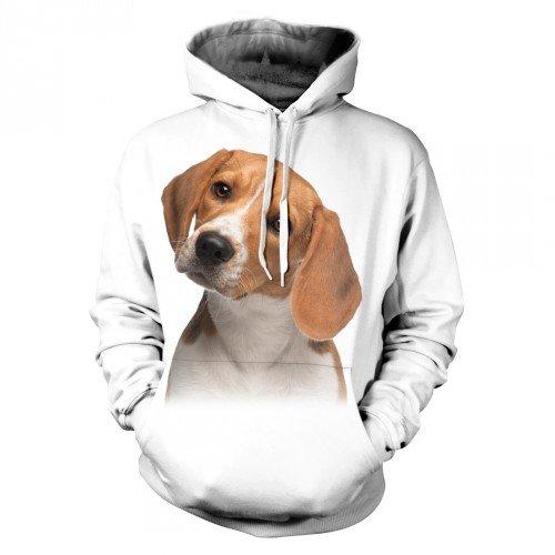 Bluza Szczeniak Beagle - Koszulki i bluzy 3D, T-shirty, tshirty, koszulki 3D z nadrukiem, koszulki damskie, koszulki męskie, koszulka, koszulki - Tulzo