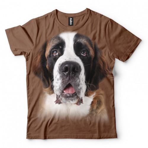 Koszulka Bernardyn - Koszulki i bluzy 3D, T-shirty, tshirty, koszulki 3D z nadrukiem, koszulki damskie, koszulki męskie, koszulka, koszulki - Tulzo