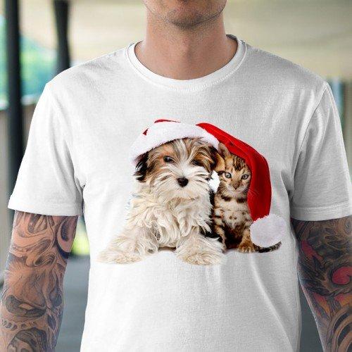 Koszulka Świąteczny Czas - Koszulki i bluzy 3D, T-shirty, tshirty, koszulki 3D z nadrukiem, koszulki damskie, koszulki męskie, koszulka, koszulki - Tulzo