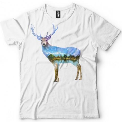 Koszulka z Jeleniem Tul-Art - Tulzo