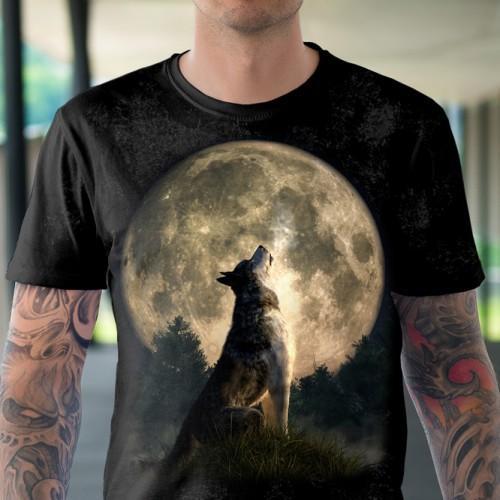 Koszulka z Wyjącmy Wilkiem - Tulzo
