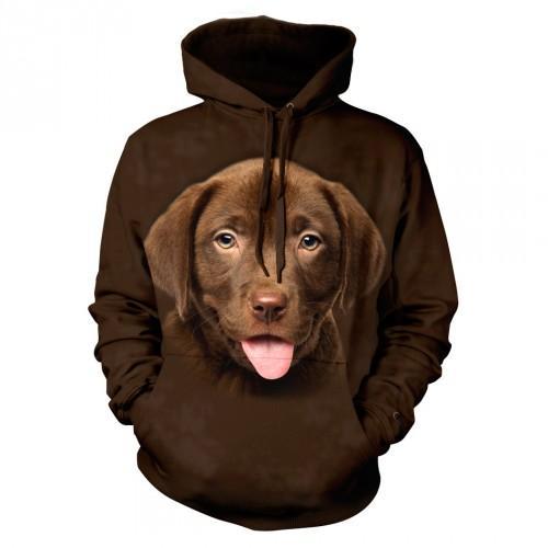 Bluza z Labradorem szczeniakiem czekoladowy - Tulzo