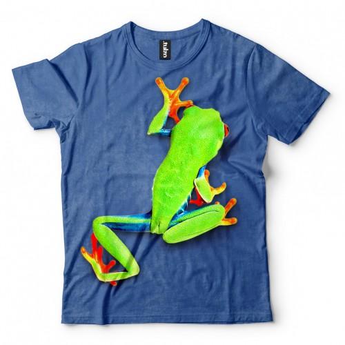 Koszulka z Żabą | Żaba | Żabka | Koszulki 3d | Koszulka 3d | t-shirt 3d | t-shirts 3d - Tulzo