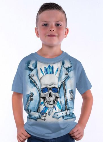 Blue Jacket Skull - Tulzo