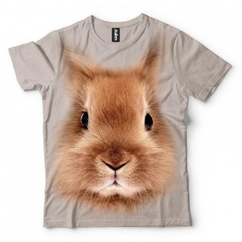 Koszulka z Królikiem | Królik | Koszulki 3d | Koszulka 3d | t-shirt 3d | t-shirts 3d - Tulzo