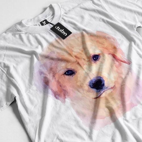 Koszulka z Szczeniakiem Labradorem Jasnym Tul-Art - Tulzo