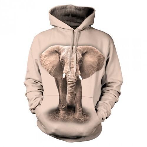 Bluza ze Słoniem | Bluza | Bluzy | Bluzy 3D | Bluza 3D - Tulzo
