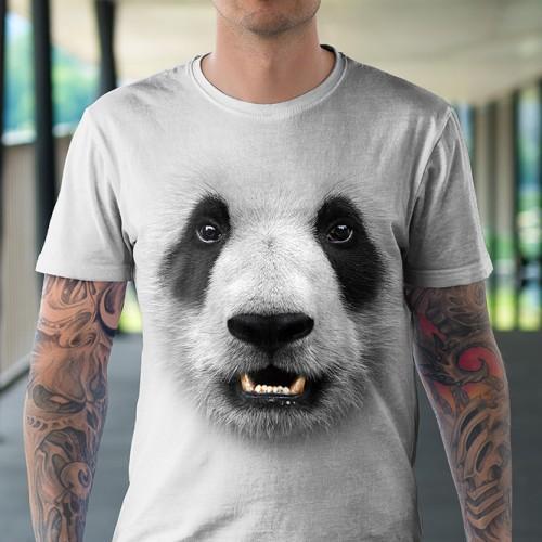 Koszulka z Pandą | Koszulki ze zwierzętami 3D | Tulzo - Tulzo