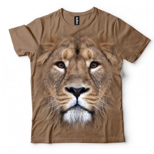Koszulka z Lewem | Lew | Lwami | Koszulki 3D | Tulzo | - Tulzo