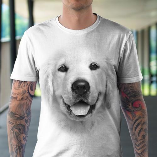 Koszulka Basic z Golden Retriever - Tulzo
