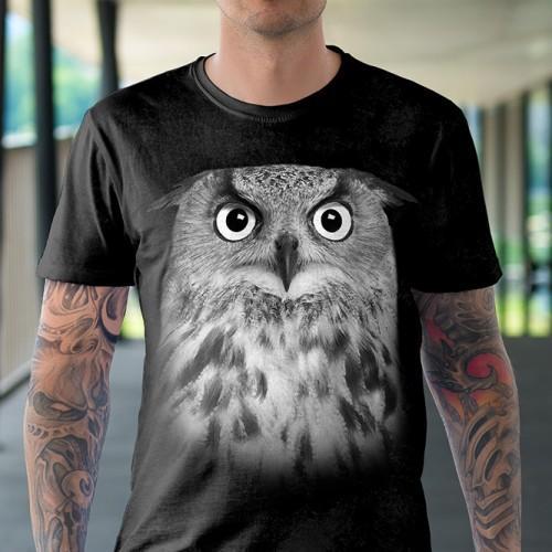 Koszulka Basic z sową - Tulzo