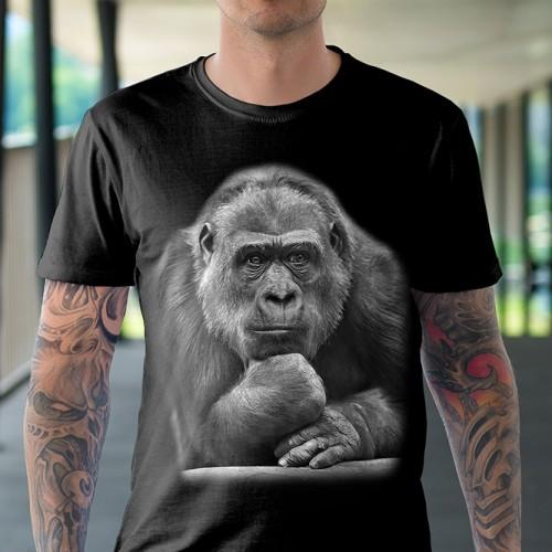 Koszulka Basic z Myślicielem - Tulzo